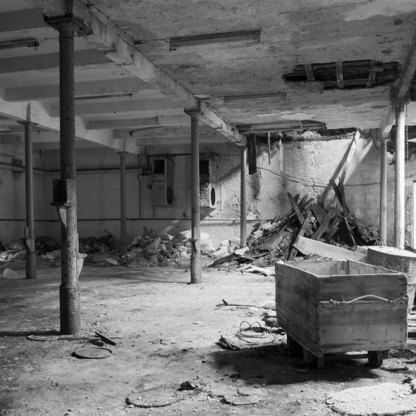 Ruine der Ultramarinfabrik Schindlerswerk, ehemals VEB Kalichemie Ruine der Ultramarinfabrik Schindlerswerk, ehemals VEB Kalichemie