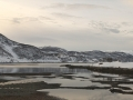 Lerrefjordveien, Nähe Komagfjord