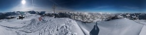 Panorama Schatzberg aufgenommen 3. Februar 2015